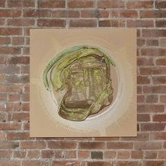Nicole Cherubini Moss/Green art for sale
