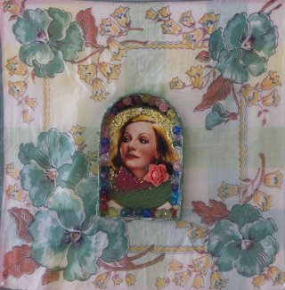 Nina Yuen Greta Garbo 2 art for sale