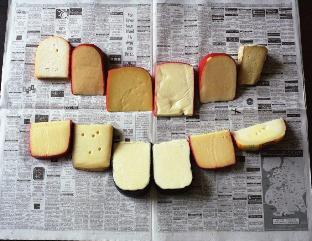 Phoebe Washburn, Untitled (cheese photograph)