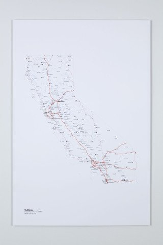 A More Perfect Union: California, by R. Luke DuBois