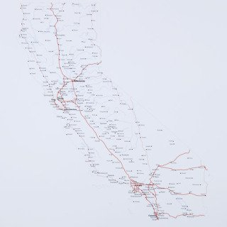 R. Luke DuBois, A More Perfect Union: California