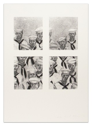 Sailors, by Richard Artschwager