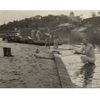 Untitled (German Soldiers Bathing in France, 1942) (still from Where is the Black Beast?, 2010) art for sale
