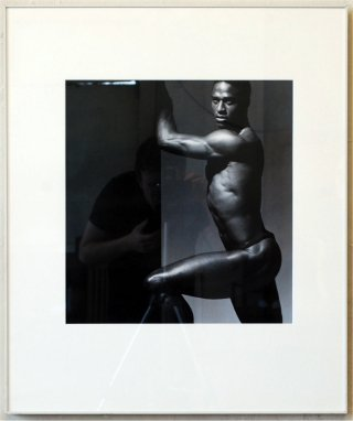 Untitled (Willie Gault), by <a href='/site-admin/artists/artist/871'>Victor Skrebneski</a>