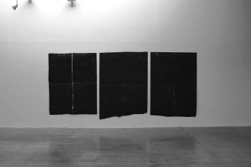 Untitled [Guilhotine Triptych], by Vijai Patchineelam
