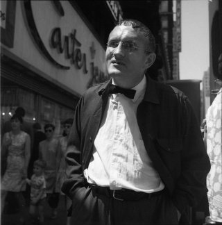 Untitled (Man with Glasses and Bow Tie), by <a href='/site-admin/artists/artist/667'>Vivian Maier</a>