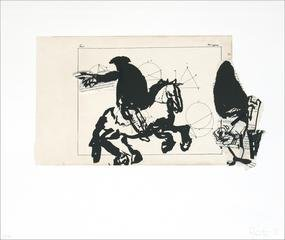 Horseman, by William Kentridge