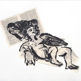 William Kentridge, Olympia (Wing)