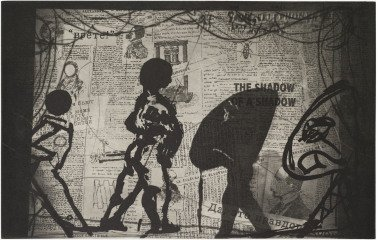 The Nose, by William Kentridge
