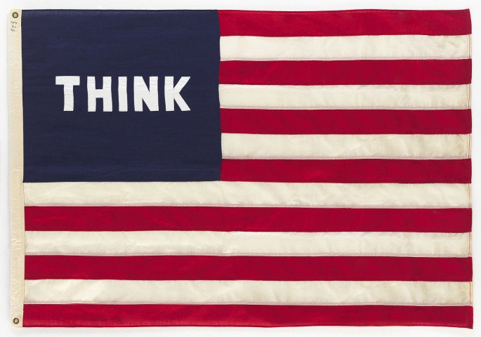 William N. Copley, Think (Flag)