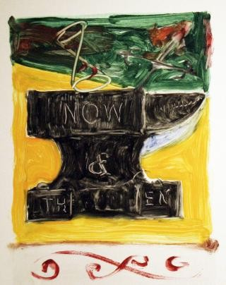 William Wiley Now And Then Anvil art for sale