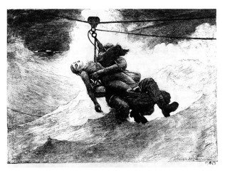 Life Line, by <a href='/site-admin/artists/artist/900'>Winslow Homer</a>